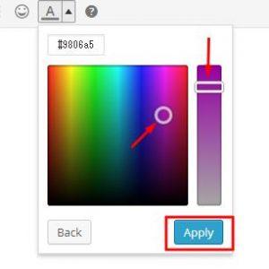 TinyMCE Color Picker でのカスタムカラー追加